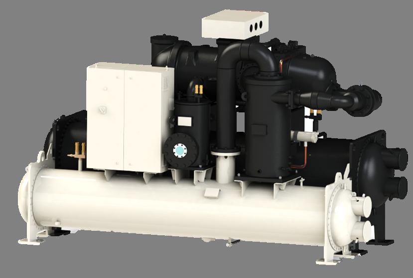 水冷单螺杆式冷水机组PFS
